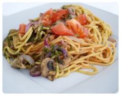 Spaghetti mit Alles ;-)