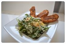 Spinat-Orangen-Salat mit Feta