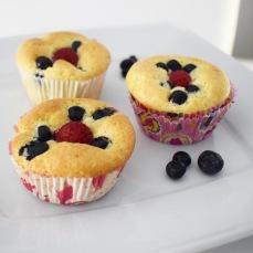 Live it Lift it: Zitronen-Beeren Muffins