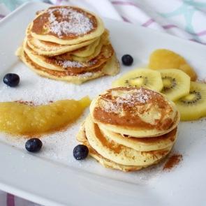 kleine Pancakes