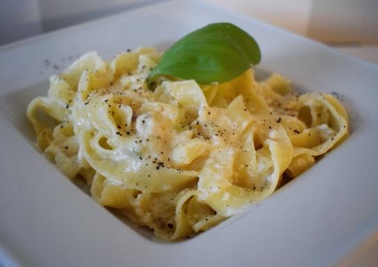Pasta alla Alfredo aus dem Rezeptbuch von Mio-Olio