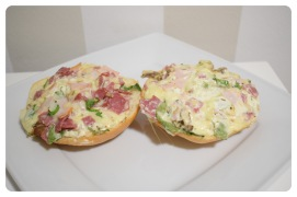 Party-Pizza-Brötchen