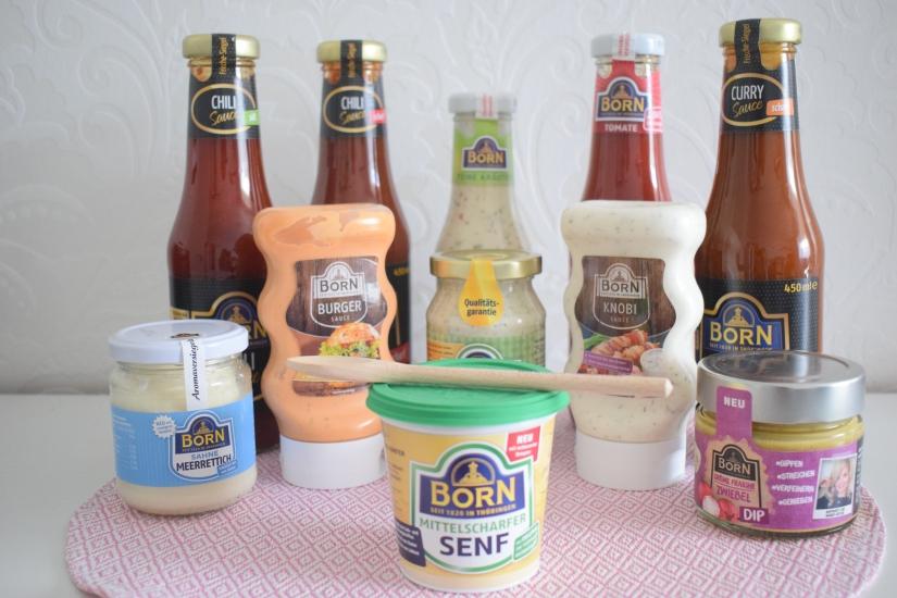 Born Senf Auswahl :-)